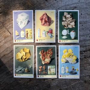 イタリア製鉱物カードセット