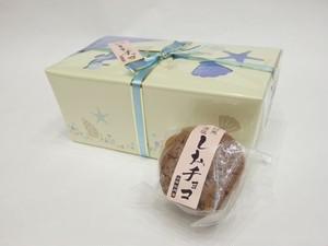藻塩チョコ(6個入)【山田松月堂】