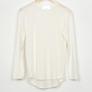 nselection ベーシックロングTシャツ / WH・BK