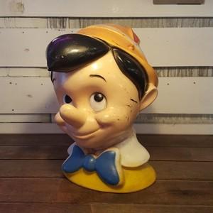 VINTAGE ヴィンテージ ディズニー ピノキオ フェイスバンク