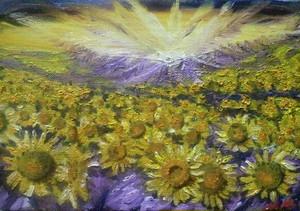 『太陽の子』油絵