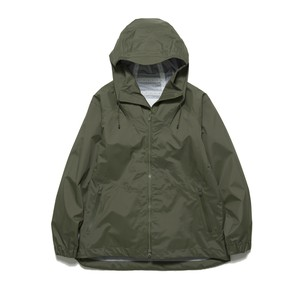SAITOS NYLON RIPSTOP 3LAYER HOODED PARKA - KHAKI