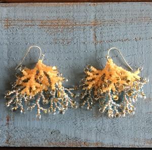 Coralreef motif Pierce -Orange I-