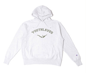 YOUTHLAVES Hoodie -S.Grey-