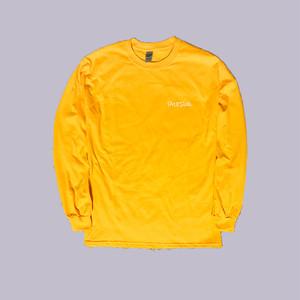 HAPPY TALK LONG SLEEVE T-SHIRT Yellow