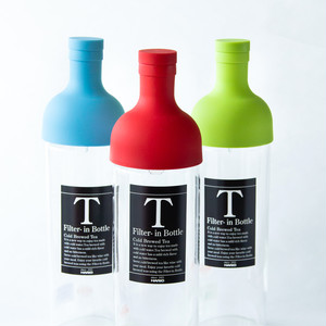 茶葉とお水を入れるだけ! 冷茶用 フィルターインボトル