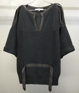 2000s VERONIQUE BEANQUIHNO CUTOUT SWEATER