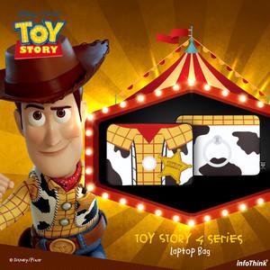 InfoThink ラップトップ Disney トイ・ストーリー4 タブレット PCケース ウッディー