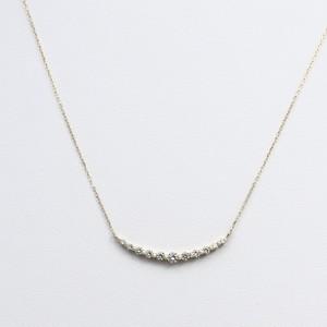 K18 0.3ctダイヤモンドネックレス
