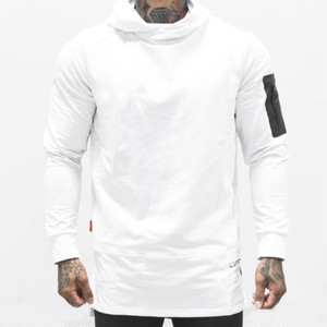 LIVE FIT Assassin Hoodie- White