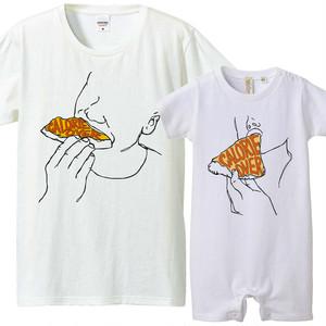 [おそろいコーデ] Calorie over / pizza