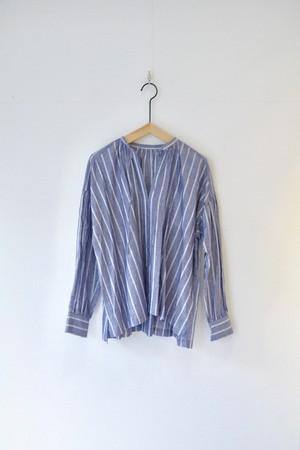 【ordinary fits】FLORIST BLOUSE stripe/OL-S072S