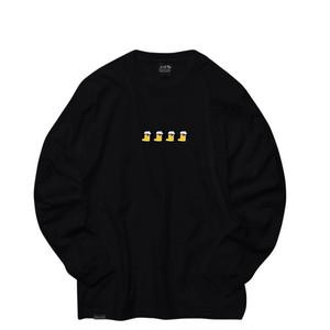 EAZYMISS x HIGH SOX collaboration Long sleeve BLACK L