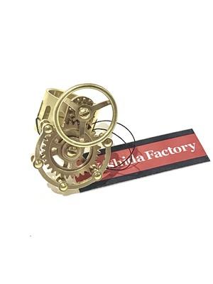 ハンドル付き歯車のリング