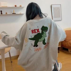 【トップス】絶対欲しい韓国系カートゥーン刺繍長袖パーカー34182429