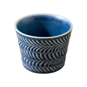 波佐見焼 翔芳窯 ローズマリー マルチカップ 約8cm 200ml デニム 33395