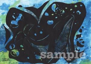 直筆絵画01(A4サイズ)