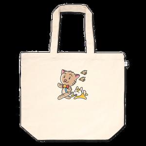 <トートバッグ-A L>おさんぽみーちゃん