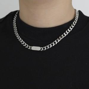 【アクセサリー】大人気シンプルサークルチタン鋼合わせやすいネックレス47355260
