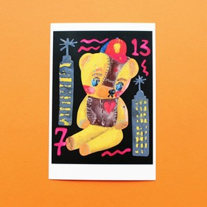 Rob Kidney/Postcard 'CHIC BEAR'