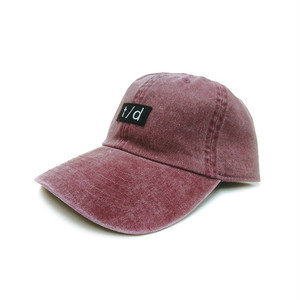 THURSDAY - t/d PIGMENT DYED CAP (Burgundy)