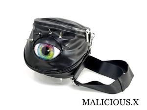 eye big  body bag / rainbow