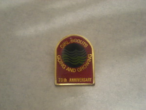 BADGE / GIRL SCOUTS