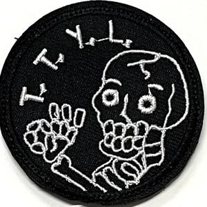 T.T.Y.L. また後ではなそ!patch ワッペン パッチ