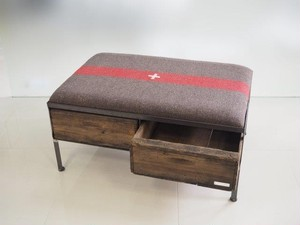 品番UEMW-113  2drawer ottoman[wide/European military blanket]