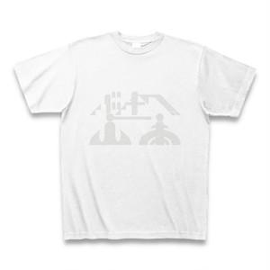 バチ山ロゴT|白