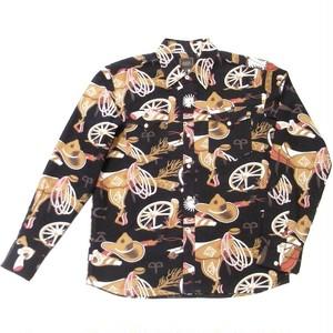 RATS(ラッツ) / PRINT FLANNEL WESTERN SHIRT(17'RS-1104)(フランネルシャツ)