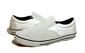 POSSESSED SHOE SKATE GANG SLIP ON WHITE