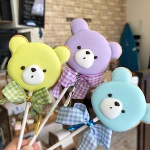 Baby Bear Pops (10本単位でご購入ください@648)