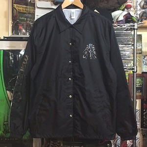 COACH JACKET / black on black