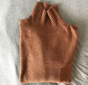 Turtle Oner knit(ブラウン)