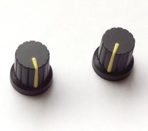 シンセ ツマミ型 マグネット 【黒×イエロー】 Synth Knob Magnet SKM  | シンセサイザッカー