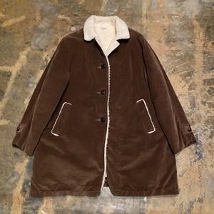 60s〜70s Corduroy Boa Coat / USA