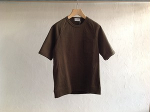 "FLISTFIA""Short Sleeve Sweat Dark Olive"""