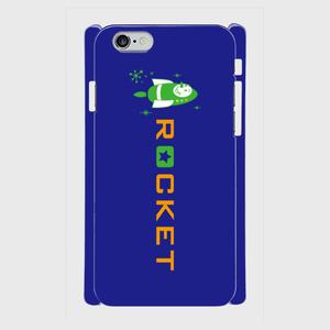 ロケットくん ロゴタイプ(ネイビー)スマホケース