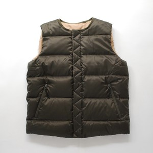 White Mountaineering REVERSIBLE DOWN INNER VEST