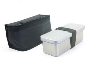 保冷ランチバッグ付 ステンレス1段ランチボックス