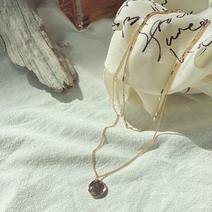 ceiling pendant necklace/gold