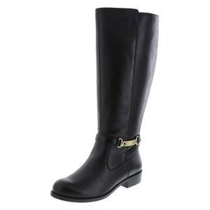 27cm~27.5cm ロングブーツ 黒 ジョッキーブーツ モデルサイズのブーツ