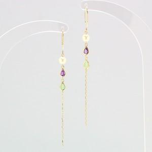 k10 × collar stone ピアス ①