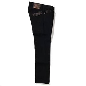 RIGID TYPE-2 DENIM PANTS<TIGHT STRAIGHT> (BLACK) / RUDE GALLERY