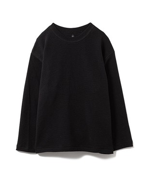 【SANDINISTA】Easy Fit Cotton Knit Top