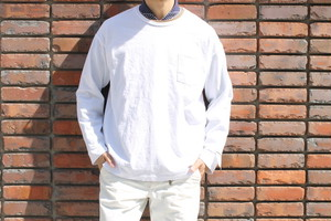 SANDINISTA / Side Slit Pocket L/S Tee
