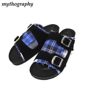mythography  Double Belt Sandal -Nel Shirt