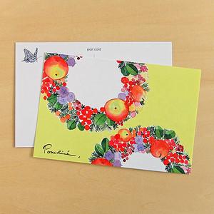 ポストカード りんごとベリー PC03