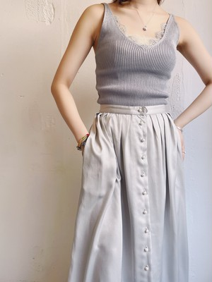 U.S. vintage skirt with Pearl button